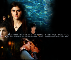 Percy and Annabeth Wallpaper by avatar-fangirl