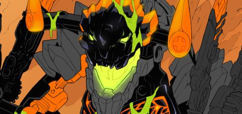 Bionicle 2016 Comics Project - WIP by Tomycase