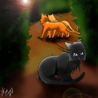 Cinderpelt's Grief by WhiteFlameSoul