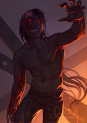 Ghoul by chirun