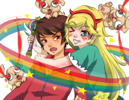 Star vs The Forces of Evil by cup-drop