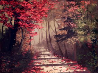 Forest again by yusa-ryo