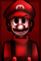 Red Mario by mariogamesandenemies