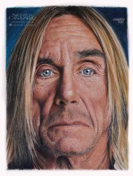 Iggy Pop - Color Pencils by NestorCanavarro