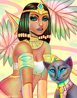Pharaoh Nidalee by ROGUEKELSEY
