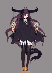 Vyxiel Reference by Valkymie