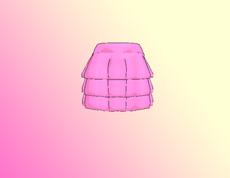 MMD Layered skirt by amiamy111
