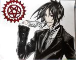 The Black Butler. by mandax087