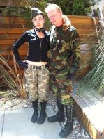 Military fashion Show IV by Lady-of-Slaughter