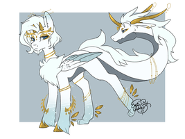 [Adoption] Dragonhead-tail pony -Auction (CLOSED) by Midnightglow20