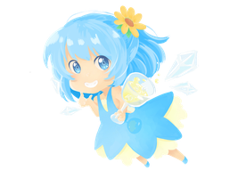 Cirno Tea by FlanBow
