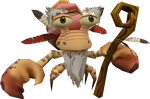 Wise Old Crab (Globs of Doom) Model by CRASHARKI