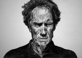 Clint Eastwood II by rorymac666