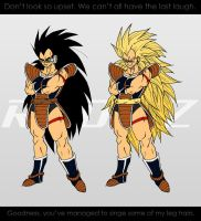 Raditz. :Sketch+PSGraphics: by moxie2D