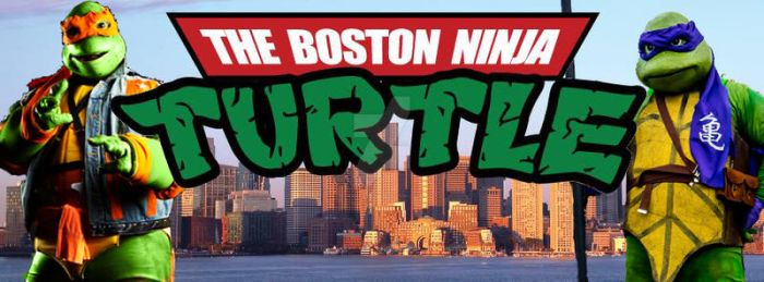The Boston Ninja Turtle Facebook Cover by jrartist1229