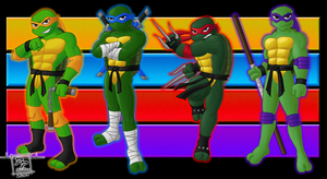 Heroes in a Half Shell--TURTLE POWER! by Paul-Powers