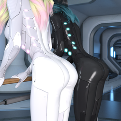 Catsuit Bums (Test 2) by Shimeri