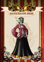 Masquerade Meme: Edith by coyotepack