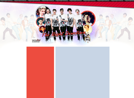 One Direction Layout by Lexigraphic