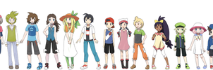 Pokekids HGSS ages by Hapuriainen