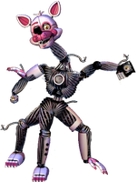 Funtime Mangle by FNaFEditorist50