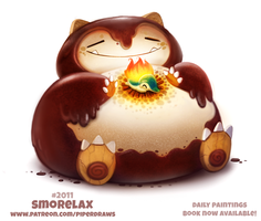 Daily Paint 2011# Smorelax by Cryptid-Creations