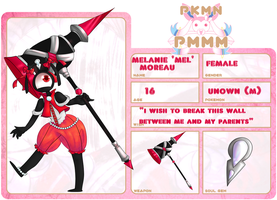 PKMN-PMMM App- Mel Moreau by Ally-Ooops