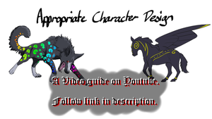 Animation Tips 1: Character Design (On Youtube) by DarkmaneTheWerewolf