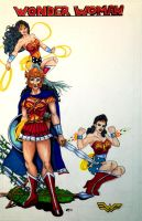 Wonder Woman History page (no text) by Medusa1893