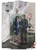 Hannibal Dorian Gray AU by theseavoices