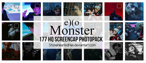 [ScreenCap] EXO Monster Photopack by StoneHeartedHan