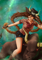 The Bull : Taurus by Lily-Fu