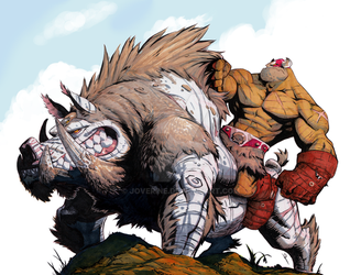BattleBoar Balto markers clean scan by joverine