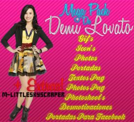 Mega Pack De Demi Lovato #2 by M-LittleSkyscraper