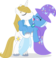 Trixie is in LOVE! by FloofPuppy