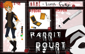 Rabbit Doubt :: Application - Izuna Fukui by InkyKyun