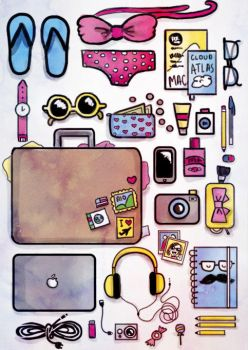 What's in my suitcase by tamarindojuice