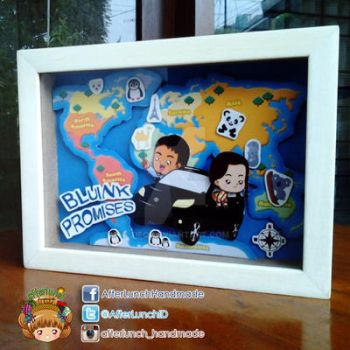 Bluink Promise Pop-up Frame by tieq