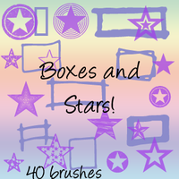 Stars and Boxes with imagepack by lisaedson