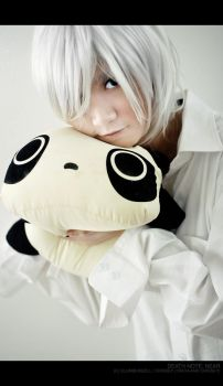 DN Cosplay: Near Loves Panda by Crissey