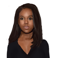 Aja Naomi King by moon-coyote