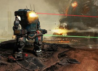 Mwo concept with Hitman's model and terrain. by Hitman85Pl