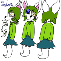 Zelon Ref by GameyGemi