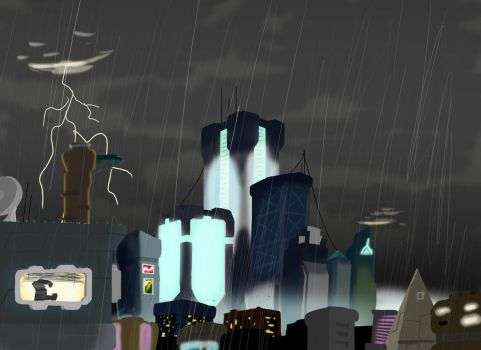 CityScape by GreatDictator