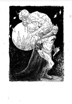 Batman and the Weeping Corpse-Man by marklaszlo666