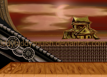Gift: Street Fighter 2 Background (Without KO) by IddyBiddySquish