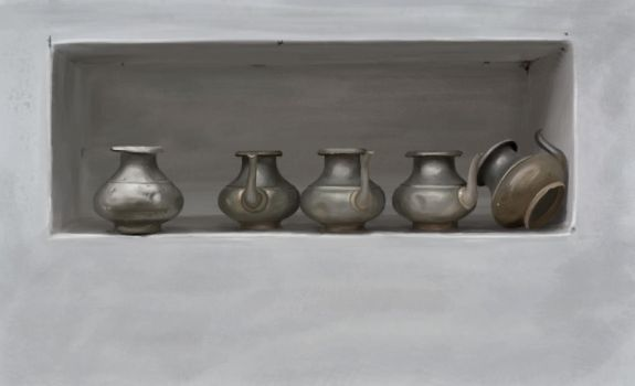 Water Pitchers by rchandra