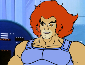 Lion-o Smiling Repaint Proper Eyebrows by Bryano37