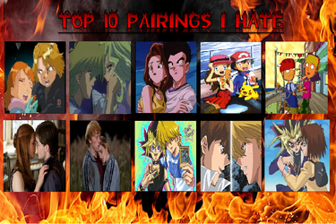 My Top 10 Shippings That I Hate by digidestinedgirl09