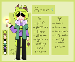 Adam ref by mew-toon